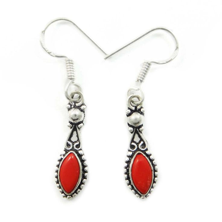 This is a beautiful silver tone oxidized metal dangle earring set. It is very fashionable jewelry.