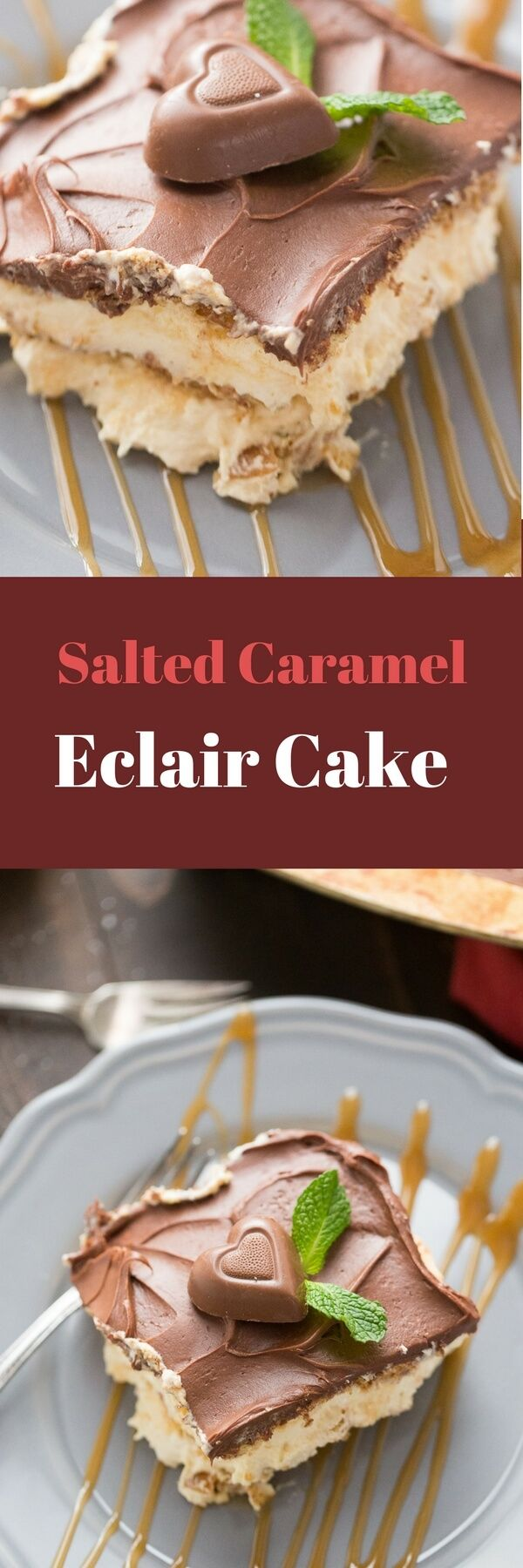 This no bake eclair cake is one of those crowd pleasing desserts that will always be the first to go! The best part is how simple it is to make!