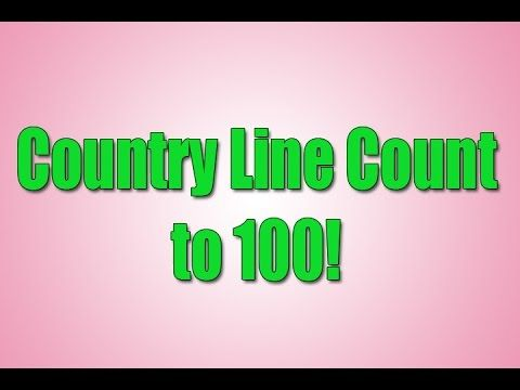 Count to 100 | Counting to 100 | Following Directions | Country Line Count | Jack Hartmann - YouTube