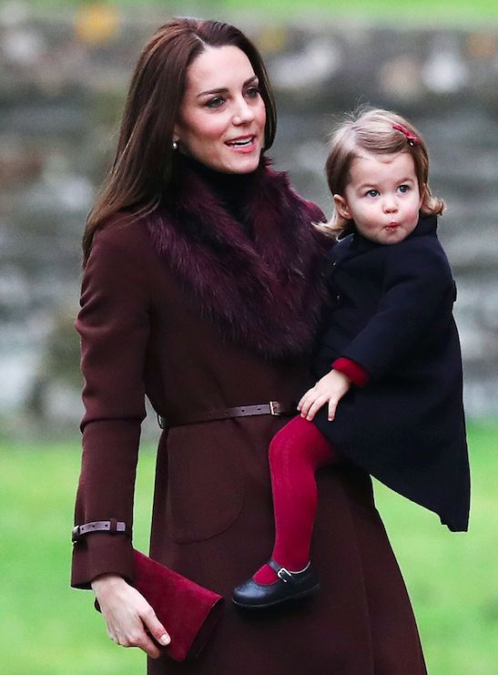 The Royal Babies Got All Dressed Up and Adorable for the Holidays  - ELLE.com