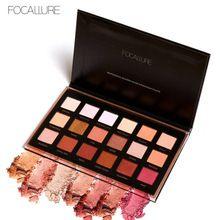 US $7.59 FOCALLURE 18 colors Makeup Eyeshadow Palette Glitter Cosmetics Fashion Make Up Shadows Eyeshadow Makeup Set. Aliexpress product