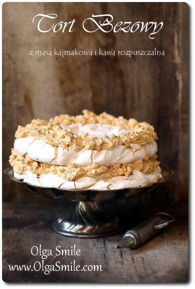 Tort bezowy Olgi Smile
