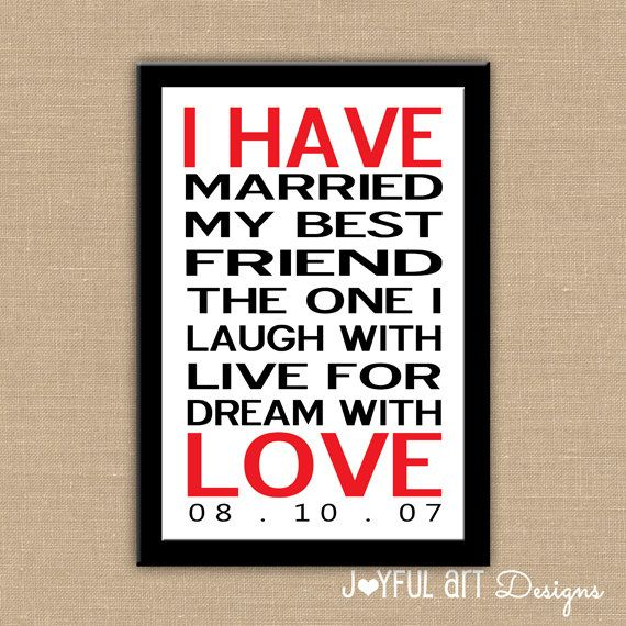 I Have Love PRINTABLE.  Customized Love Marriage Wall Art. Bedroom Home Decor. Wedding Anniversary Gift. $10