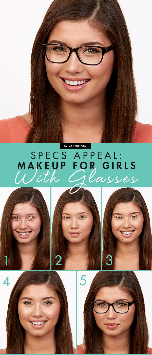 Specs Appeal: Makeup for Girls With Glasses featuring The Body Shop Shimmer Waves in Blush!