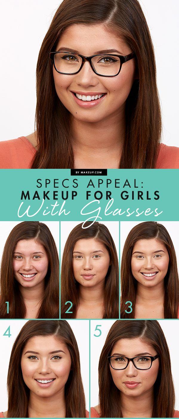 makeup for glasses tutorial