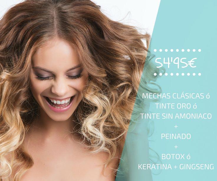 ⇀ Promoción MAYO ↼ ☀ Prepara tu #cabello con nuestro tratamiento de #tinte: #mechas clásicas, tinte oro o tinte sin #amoniaco. ¡Luce tu #pelo a la última este #verano!  #peluquería #estilismo #estética #promoción #style #hairstyle #hairideas #fashion #hair #hairdo #moda