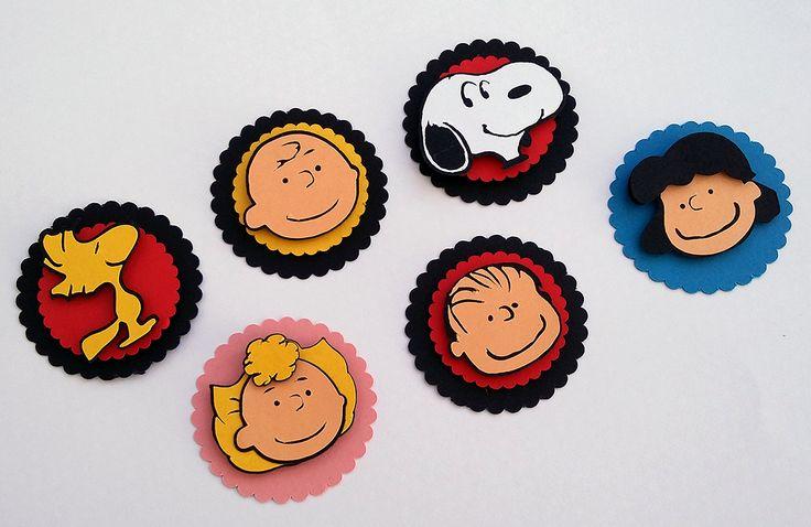 Tags dos personagens para decorar a festinha do Snoopy. Podem ser utilizadas em latinha mint to be, em caixinhas, garrafinhas, tubetes, forminhas para cupcake, etc.