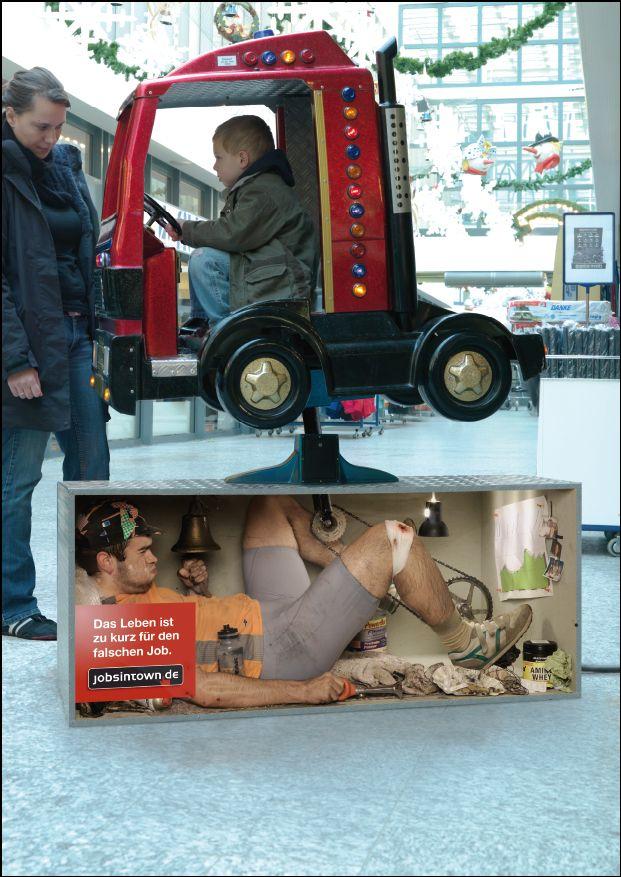 Jobs in Town.de 'kidride':'Life's too short for the wrong job'