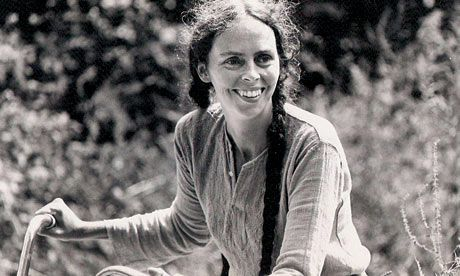 Ina May Gaskin, world renowned midwife, and one of my heroes.  http://www.guardian.co.uk/lifeandstyle/2009/sep/26/natural-birth-expert