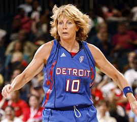 "Happy Birthday: Nancy Lieberman  July 1,1958 - Nancy Elizabeth Lieberman nicknamed ""Lady Magic"", is a former professional basketball player who played and coached in the WNBA. Lieberman became the first woman ever to coach a men's professional basketball team, as she led the Texas Legends of the NBA's Development League.  keepinitrealsports.tumblr.com  keepinitrealsports.wordpress.com  facebook.com/pages/KeepinitRealSports/250933458354216  Mobile- m.keepinitrealsports.com"