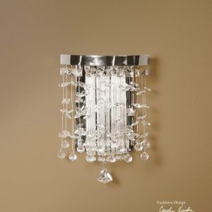 Hanging Crystal Wall Sconces