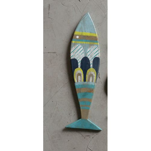 Found it at Wayfair - Waterside Recycled Wood Fish Wall Décor