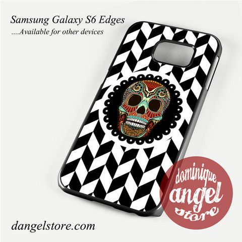 Cool Chevron Skull Aztec Phone Case for Samsung Galaxy S3/S4/S5/S6/S6 Edge Only $10.99