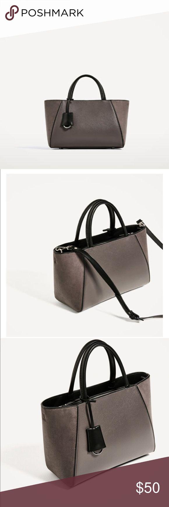 Zara tote Mini Zara tote Zara Bags