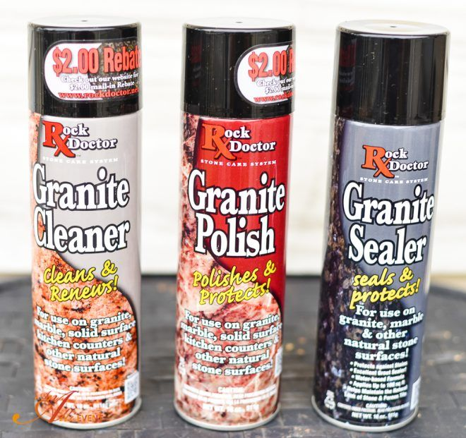 How To Clean Polish And Seal Granite Countertops How To Clean Granite Granite Countertops Cleaning Granite Countertops