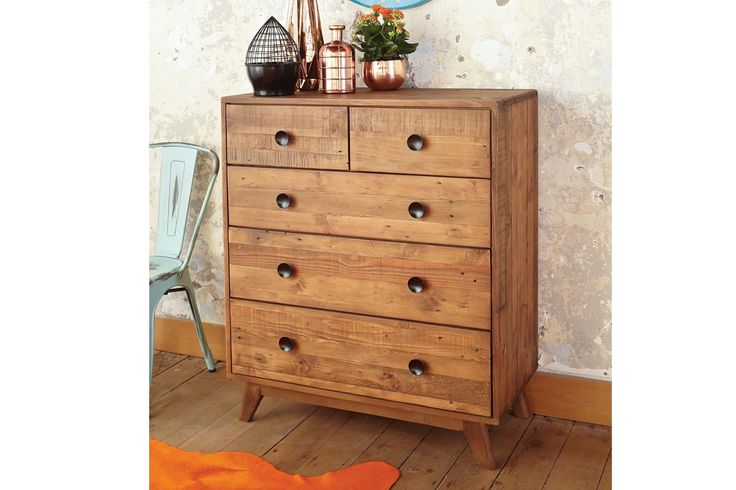 Zephyr 5 Drawer Large Chest by Synargy