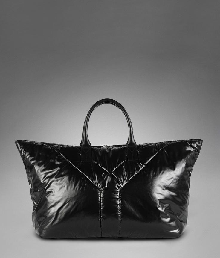YSL Hamptons Bag in Black Nylon - Casual \u2013 Men \u2013 Yves Saint ...