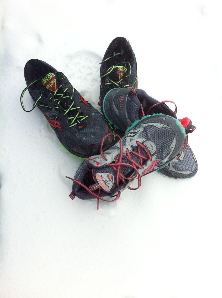 Winter running motivation - Bacon Bits