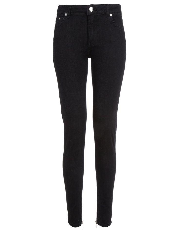 black skinny leg jeans - Google Search