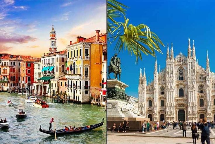 Discount 4-6nt 4* Venice & Milan, Breakfast, Flights & Transfers for just £119.00 Where: Venice and Milan.  What's included: A two or three-night 4* hotel stay in each destination, return flights from London Gatwick, Luton, Stansted, Edinburgh, Bristol or Manchester, train transfer between cities and daily breakfast.  Your room: Stay in a twin or double standard en-suite room (see list of...