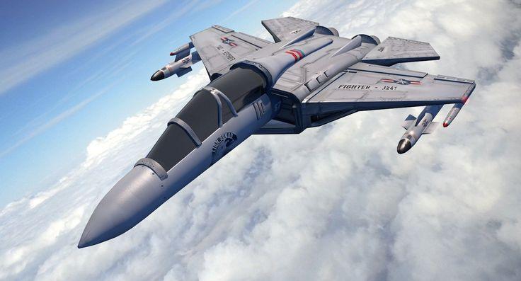 3d war jet fighter aircraft