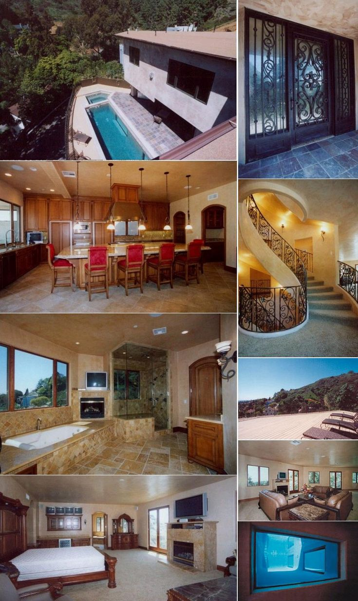63 best images about celebrity homes on pinterest for La celebrity home tours