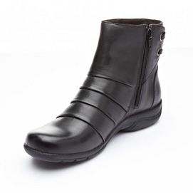 Clarks® Women's 'Christine Tilt' Leather Fashion Boot - Sears | Sears Canada