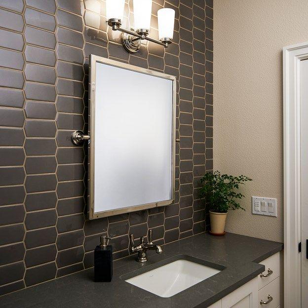 backspalsh is capriccio made by ann sacks ceramic tile favo shape in shade gloss - Matchstick Tile Castle 2016