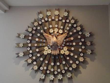 Mandala Do divino espirito santo ARTESANATO - Itapu Decoração