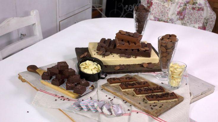 Receta   Dulces de chocolate - canalcocina.es