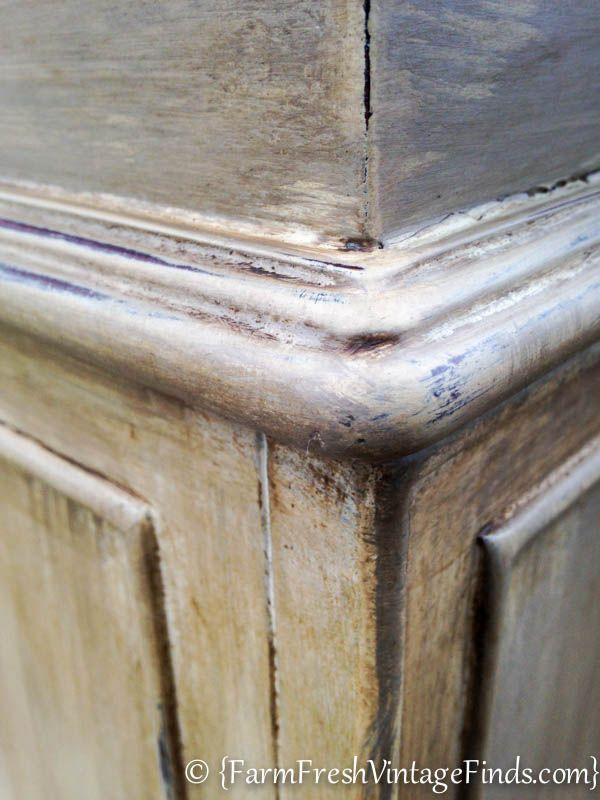 Tips for acheiving a layered paint look  - Farm Fresh Vintage Finds