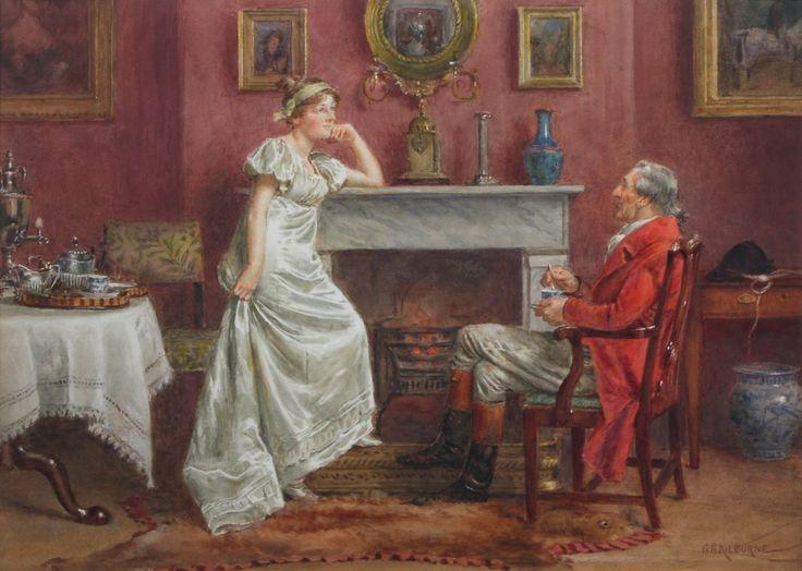 George Goodwin Kilburne (1839 - 1924)