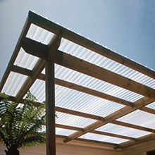 PVC Corrugated Roofing Sheets