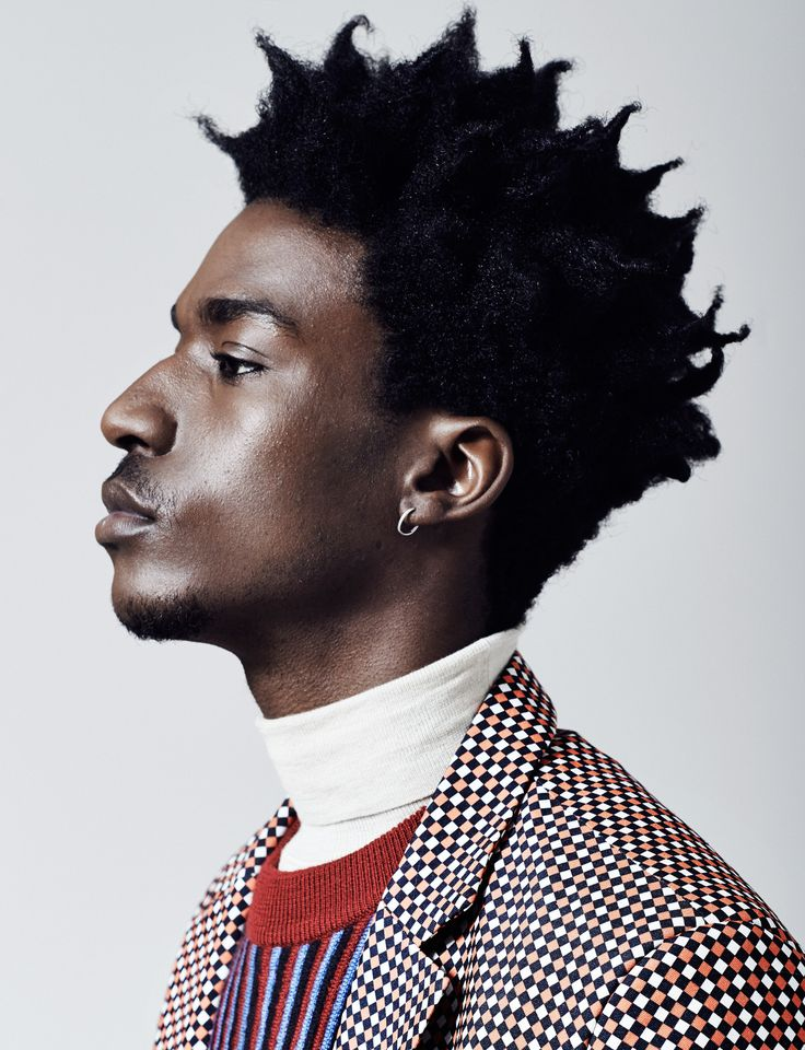 Black Mens Hair /// Boyd Alves By Florian Renner