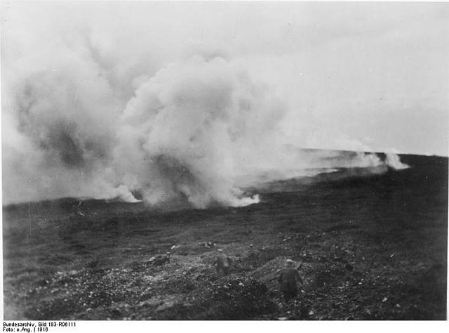 Scontri di artiglierie a Verdun