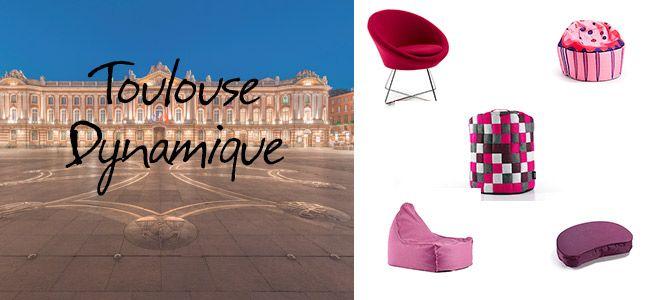 """#Toulouse #Dynamique #Blog #Kave - La vie en rose ! """"Parfois au fond de moi se raniment l'eau verte du canal du Midi et la brique rouge des Minimes. Ô mon païs, ô Toulouse..."""" (C.Nougaro).  C'est avec plaisir, que nous nous promenons, au gré de ses ruelles historiques à la découverte des trésors de son patrimoine architectural : la basilique St Sernin, """" Fleur de Corail"""", le Capitole, avec sa place où se trouve la fameuse Croix Occitane..."""
