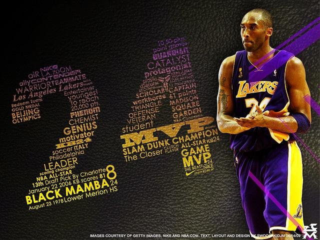Kobe Bryant Desktop Wallpaper     Best Laker Ever!