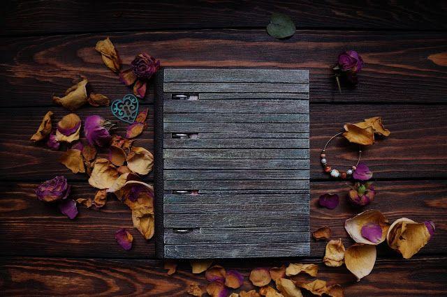 Eclectica: Деревянная тетрадь на кольцах