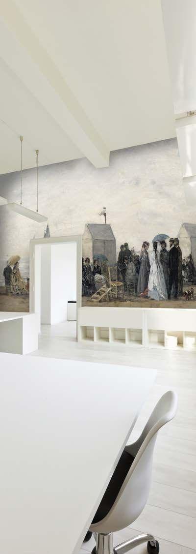 Printed PVC wall fabric Barrisol® Capolavori dell'arte by BARRISOL NORMALU