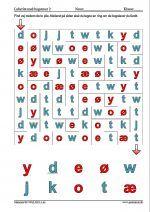 L�s labyrinten og find sm� bogstaver