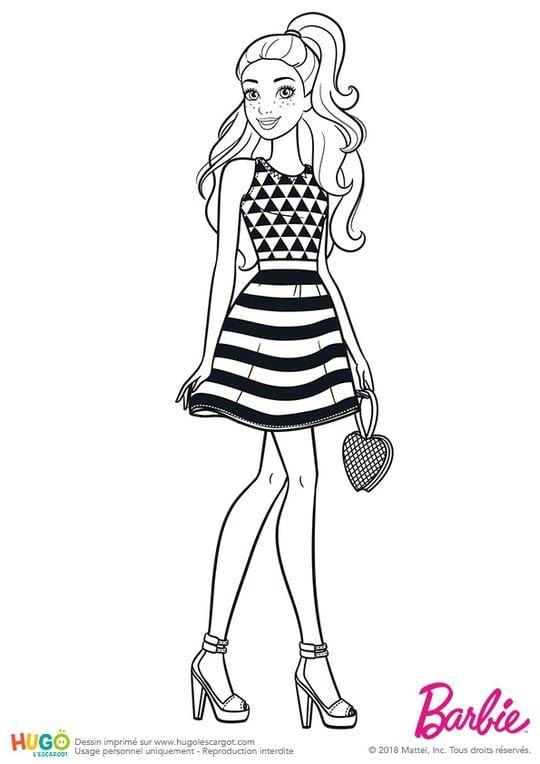 Barbie Fashionistas, le restaurant | Coloring pages | Coloring pages ...
