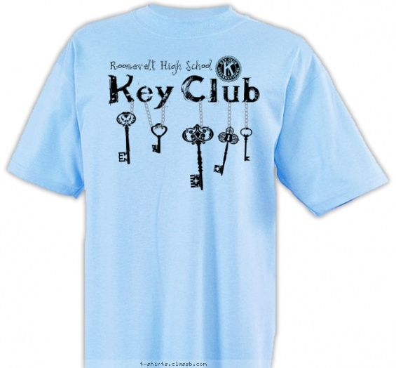 School Shirt Design Ideas shirt designs Hanging Key Club Kiwanis Key Club Design Sp3457