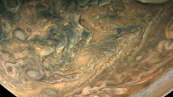 Passing Jupiter. Passing Jupiter  Video Credit & License: NASA, Juno, SwRI, MSSS, Gerald Eichstadt; Music: Moonlight Sonata (Ludwig van Beethoven)