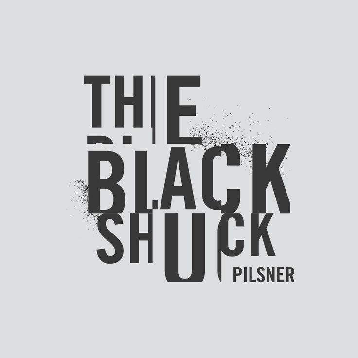 Logo Design. The Black Shuck. Designed by White is Black.