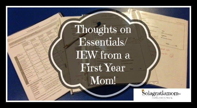 Essentials - don't fear it!  Here is some advice on how to prepare your child and yourself for a good start in Essentials!