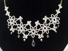 tatted necklace by ~belzhenev on deviantART