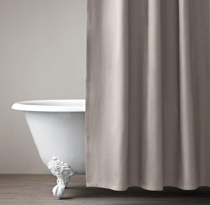 Charming Diamond Matelassé Shower Curtain