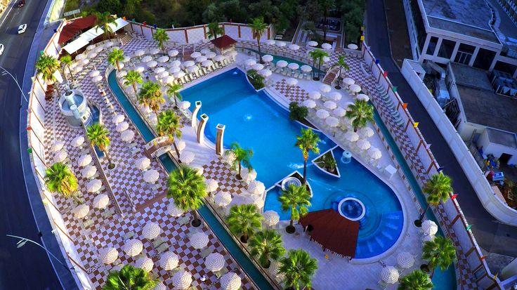 Pool - aqua park in hotel Mediteran #hotelandresort #hotelMediteran #Budva #Becici #Montenegro #mydestination #travel #fun #vacation