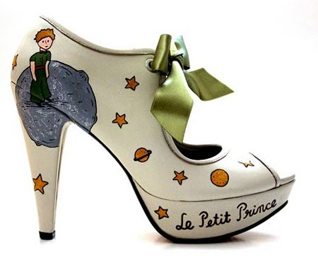 Little Prince Shoes. See more book-ish shoes at bookriot.com with DIY versions, too.