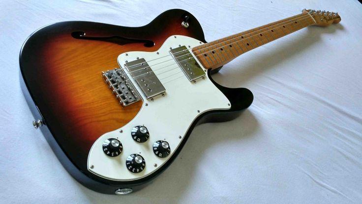 Fender Telecaster Thinline 72 -avec hard case